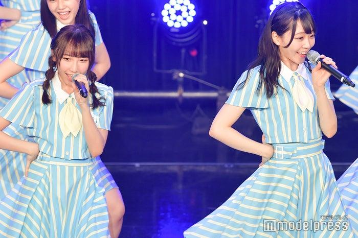 薮下楓、土路生優里/STU48「TOKYO IDOL FESTIVAL 2018」 (C)モデルプレス