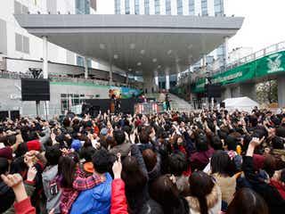 SEKAI NO OWARIお台場フリーライブで1万4000人とシングル発売お祝い