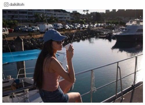 伊東大輝が撮影した島袋聖南/伊東大輝Instagramより