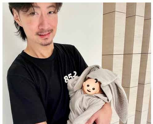 "EXILE MAKIDAI、愛息子""ちびダイ""との2ショットを公開「パパの顔してる」と反響"