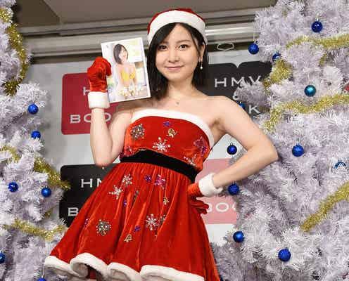"""元AKB48岩田華怜「最大にセクシーな衣装」で美脚あらわ """"紅白選抜投票""""に本音"""