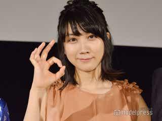 松本穂香、長編映画初主演作で「緊張」共演者に感謝<おいしい家族>