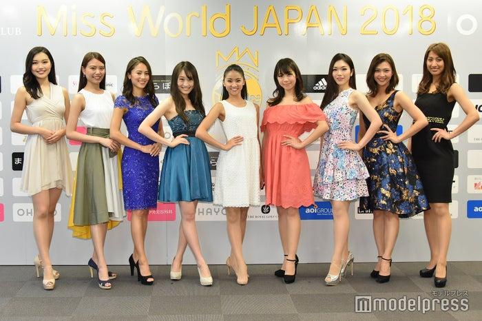 「ミス・ワールド・ジャパン」ファイナリスト (C)モデルプレス