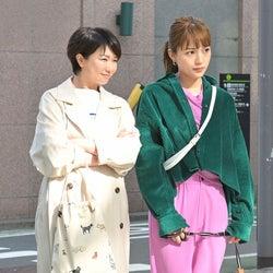 夏川結衣、川口春奈 「着飾る恋には理由があって」第2話より(C)TBS