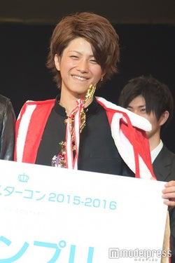 「男子高生ミスターコン2015‐2016」グランプリに輝いた、若槙太志郎くん(C)モデルプレス