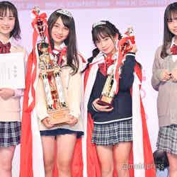 「JCミスコン2020」受賞者/審査員特別賞・わかな、グランプリ・JURI、準グランプリ・おとは、モデルプレス賞・いとぴ(C)モデルプレス