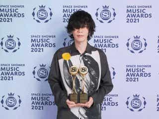 米津玄師「SPACE SHOWER MUSIC AWARDS 2021」2部門受賞
