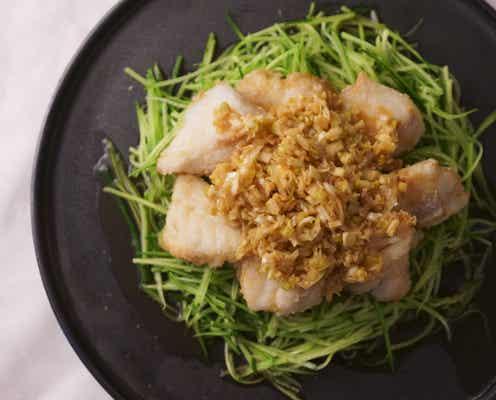 「レモンとたらの油淋鶏風」河井美歩さんのレシピ【旬を味わう華やかデリおかず #16 】