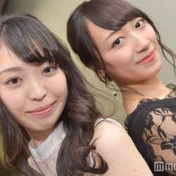 (左)白井佑奈さん (C)モデルプレス