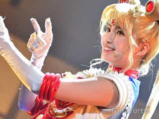 乃木坂46、ミニスカで美脚全開アクションにキスシーンも…ミュージカル「美少女戦士セーラームーン」<Team STARゲネプロ>