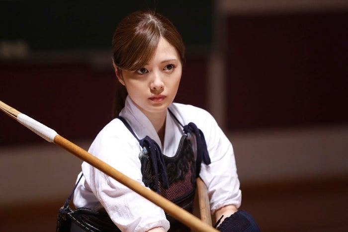 白石麻衣/(C)2017 映画「あさひなぐ」製作委員会(C)2011 こざき亜衣/小学館