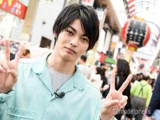 """神尾楓珠、大阪の観光名所を巡る 道中では""""まつ毛""""について熱弁「長いって言われすぎて…」"""