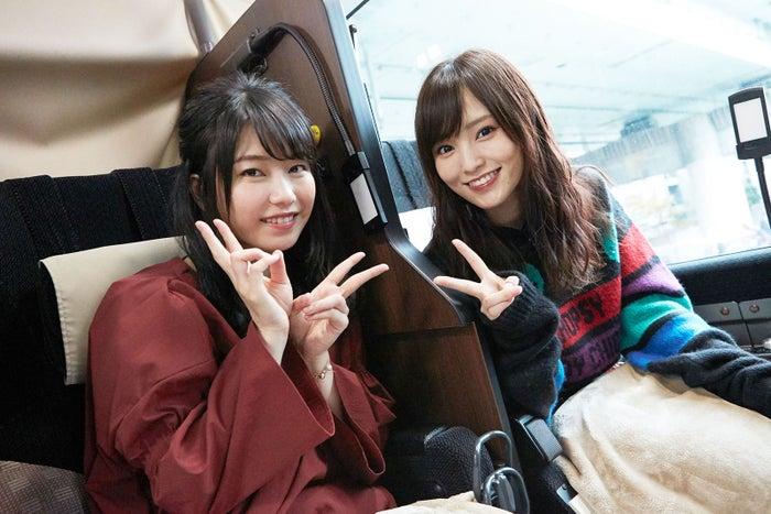 バスで移動(写真提供:関西テレビ)