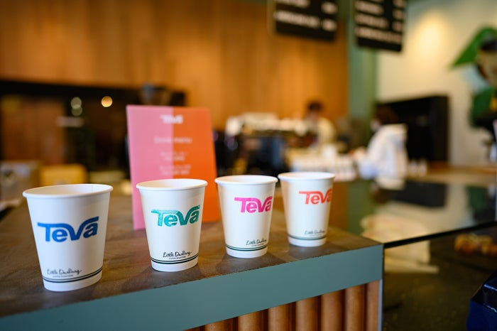 「Teva」オリジナルのカフェメニュー/提供写真