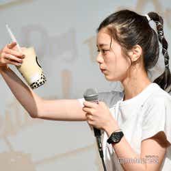 ステージドリンクのタピオカ/紺野彩夏ファンミーティング「HAPPY AYAKA DAY GIRLS FESTIVAL」の様子 (C)モデルプレス