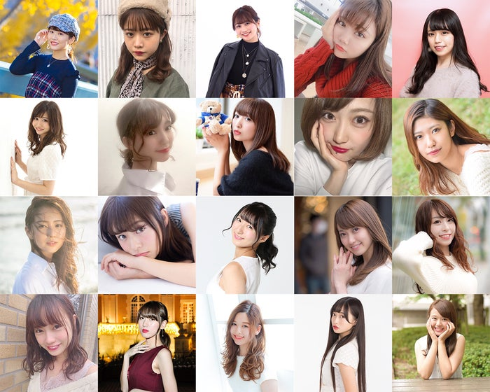 『Miss of Miss CAMPUS QUEEN CONTEST2019』ファイナリスト (提供画像)