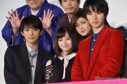 吉沢亮、橋本環奈、内田有紀、山崎賢人(C)モデルプレス
