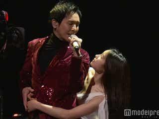 土屋太鳳、郷ひろみと3度抱き合う 入魂ダンスに歓声<紅白本番>