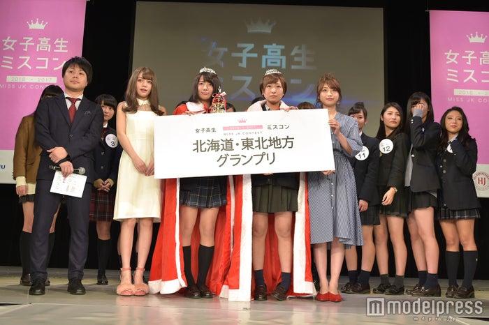 「女子高生ミスコン2016-2017」北海道・東北地方予選(C)モデルプレス<br>
