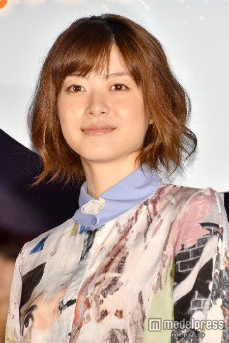 映画「陽だまりの彼女」の初日舞台挨拶に出席した上野樹里