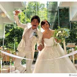 モデルプレス - 吉木りさ&和田正人、結婚披露宴を報告 ドレス・タキシード姿で感謝