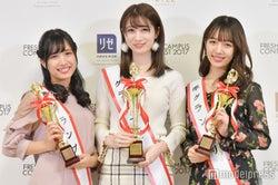 左から:五十嵐あいさん、大脇有紗さん、刈川くるみさん(C)モデルプレス