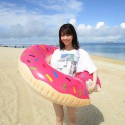 沖縄旅行を楽しむ西野七瀬(撮影/斉藤優里)(提供写真)