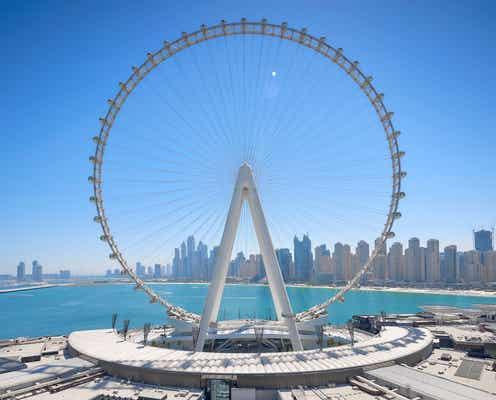 """ドバイに""""世界最大の観覧車""""「エイン・ドバイ」誕生、地上250mからのスカイラインを一望"""
