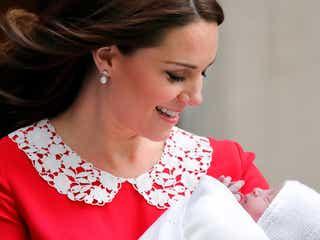 英ウィリアム王子&キャサリン妃、第3子の名前が決定
