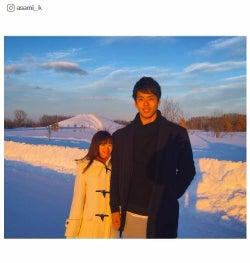 結婚発表の紺野あさ美アナ、夫・ヤクルト杉浦投手との「身長差」に注目集まる