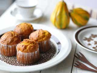 ワンボウルで混ぜるだけ!ハロウィンに子どもと一緒につくる「かぼちゃのカップケーキ」