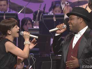 華原朋美とクリス・ハートが『歌謡チャリティーコンサート』で「美女と野獣」をデュエット