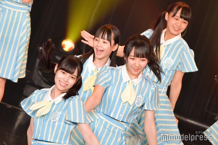 岩田陽菜、石田千穂/STU48「TOKYO IDOL FESTIVAL 2018」 (C)モデルプレス