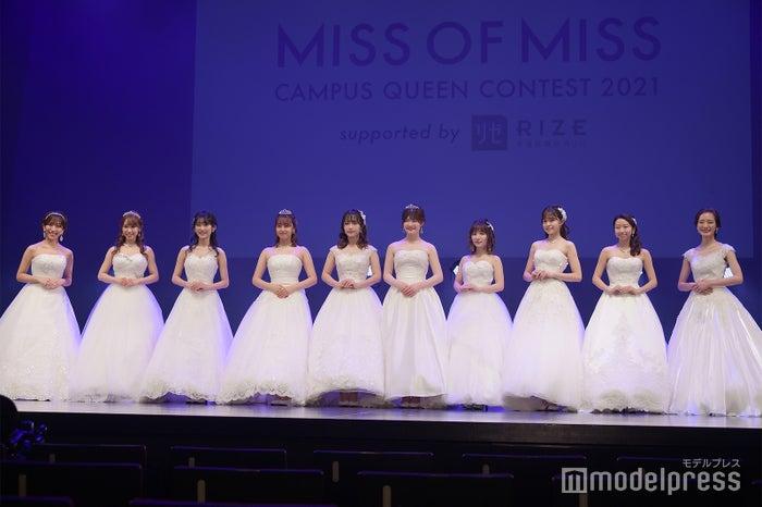 「MISS OF MISS CAMPUS QUEEN CONTEST 2021」表彰式(C)モデルプレス