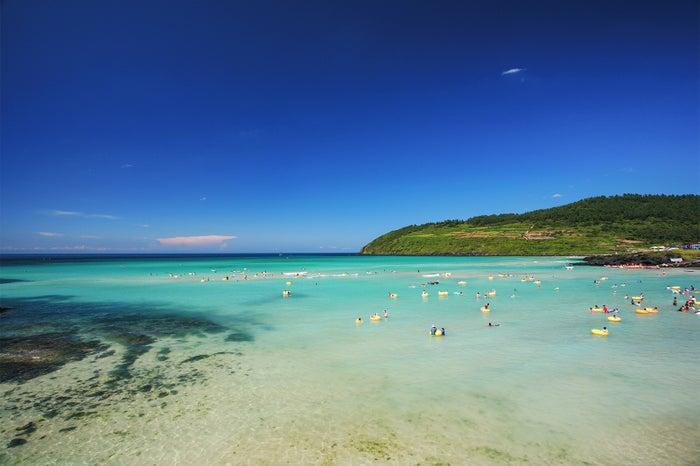 ハムドッ海水浴場/画像提供:済州観光公社