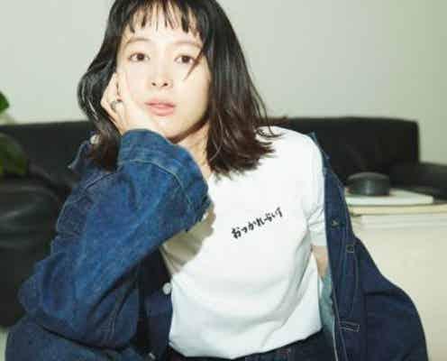 手書きフォントやイラストに注目! 女優・清野菜名と「ビームス」のスペシャルコラボレーションアイテムが登場。