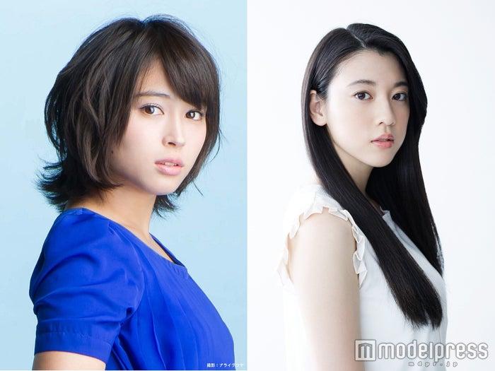 (左から)広瀬アリス、三吉彩花が共演