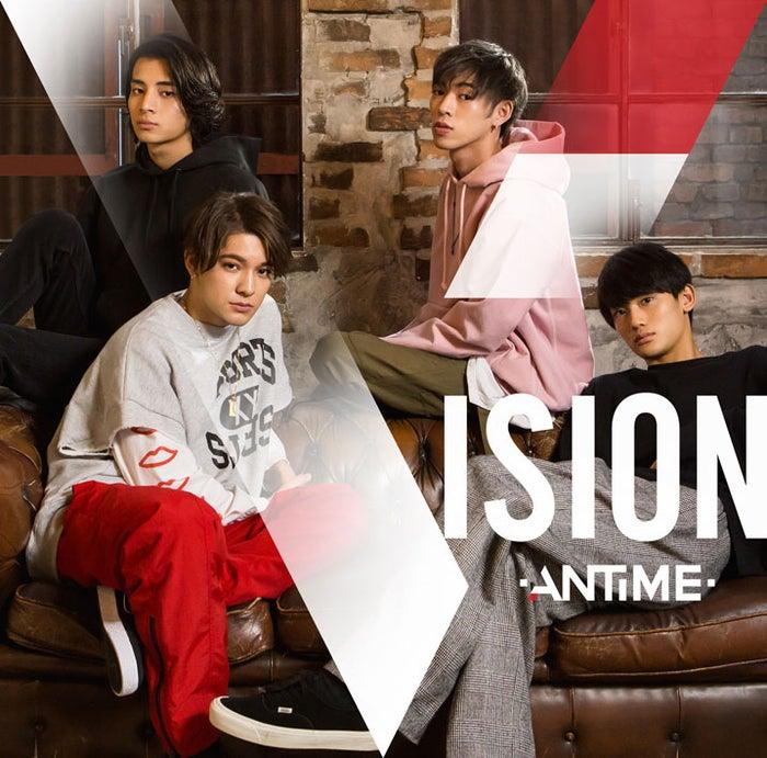ANTIME 1st Album「VISION」(2018年2月14日発売)初回限定盤(提供写真)