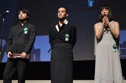 石井裕也監督、池松壮亮、石橋静河(C)モデルプレス