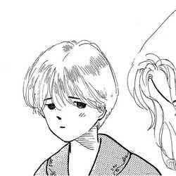 木村佳乃が演じる「ママ」と原画イラスト(C)紡木たく/集英社文庫<コミック版>