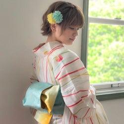浴衣に合わせたいショートヘアアレンジ15選♡