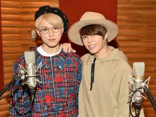 西川貴教&shuta sueyoshi(AAA)のコラボ楽曲「BIRI×BIRI」解禁 レコーディング風景も公開<スクランブル>