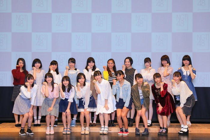 「NGT48 第2期生オーディション」合格者19人(C)AKS