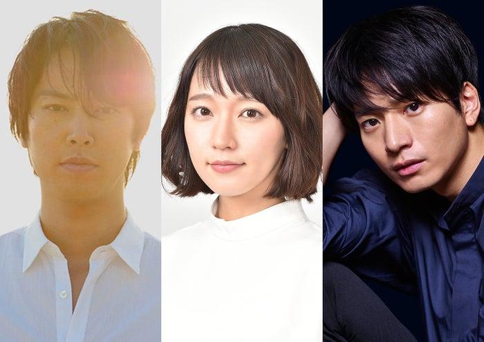 (左から)桐谷健太、吉岡里帆、向井理(提供写真)