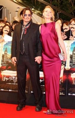 ジョニー・デップ&アンバー・ハード、結婚2ヵ月で離婚危機報道