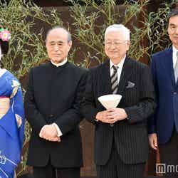 (右から)長塚京三、篠田正浩、津川雅彦(C)モデルプレス