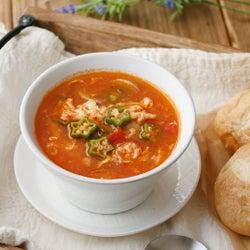 チキン スープ トマト