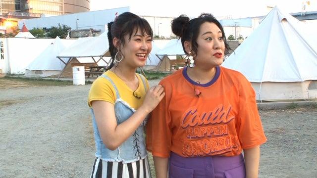 (左から)村上佳菜子、バービー(C)フジテレビ