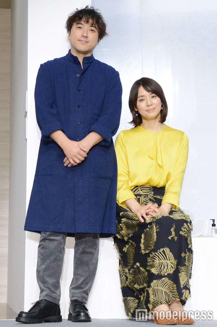 ムロツヨシ、石田ゆり子 (C)モデルプレス
