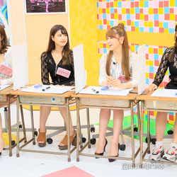 (左から)松嶋えいみ、御子柴かな、金山睦、三田寺理紗(C)モデルプレス